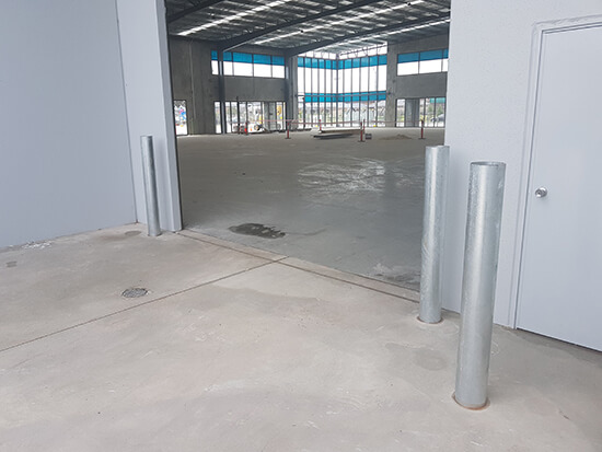 Permanent Bollards - image 165mm-Inground-Gal on https://firstchoicebollards.com.au