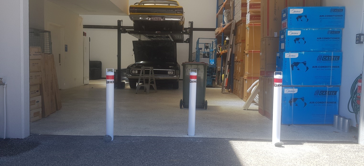 10mm removable bollards